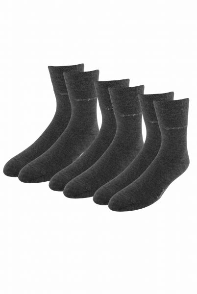 3er Pack Premium Bambus-Socken in Anthrazit